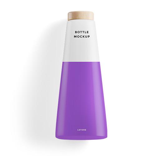 Bottle for gift orange